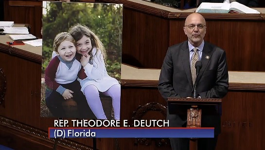 Congressman Ted Deutch Speaks of Jordan at The House of Representatives